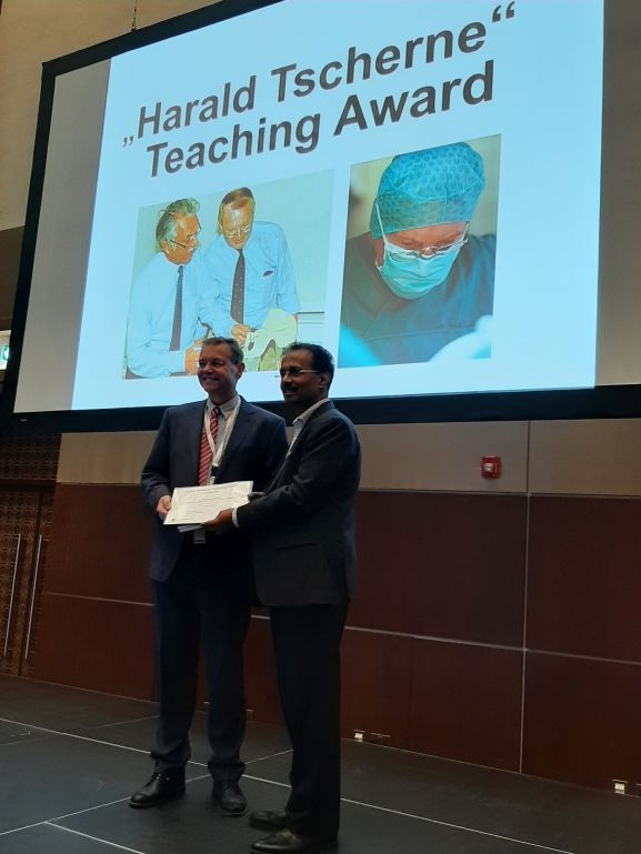Harald Tscherne Teaching Award